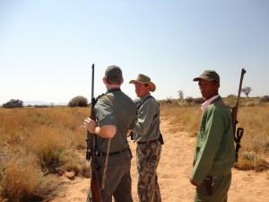 Jaco Van Der Merwe, my PH in Namibia.